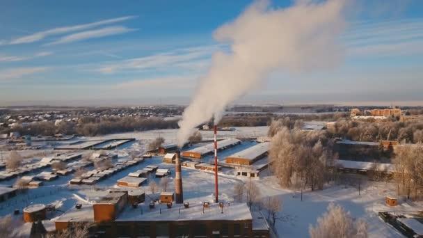 Thermal power plant, boiler house. — Stock Video © Alexpunker #195670820