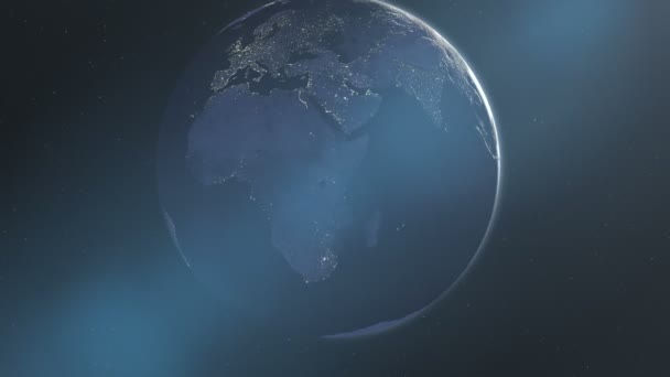 Éjszakai fényei Afrika  Európa (60fps)