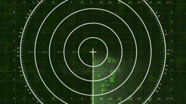 Radar Blip Full Screen, Analog (60fps)
