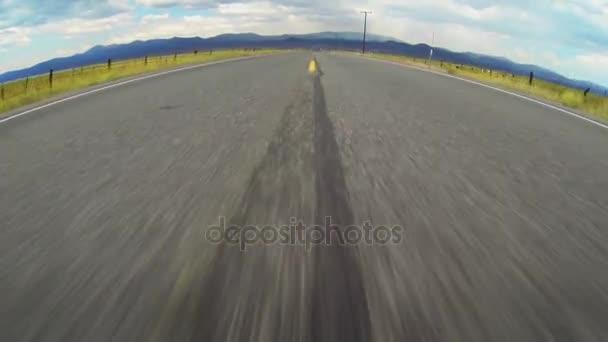 Jízda po otevřené silnici