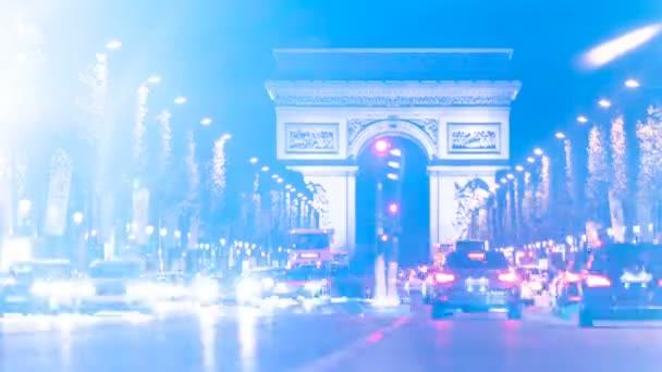 ARC De Triomphe provoz Time-lapse