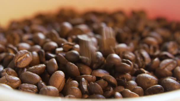 Coffee Beans Dropping