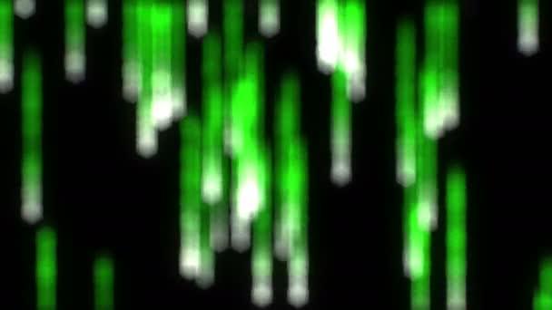 Binary Matrix Rain Loop, Blurred