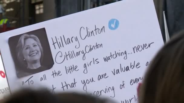 Sign with HILLARY CLINTON Quote