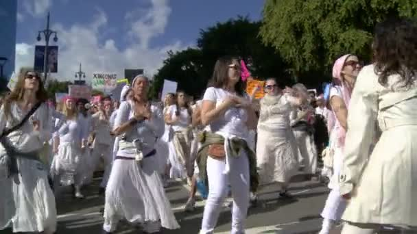 Womens March Parade Drums