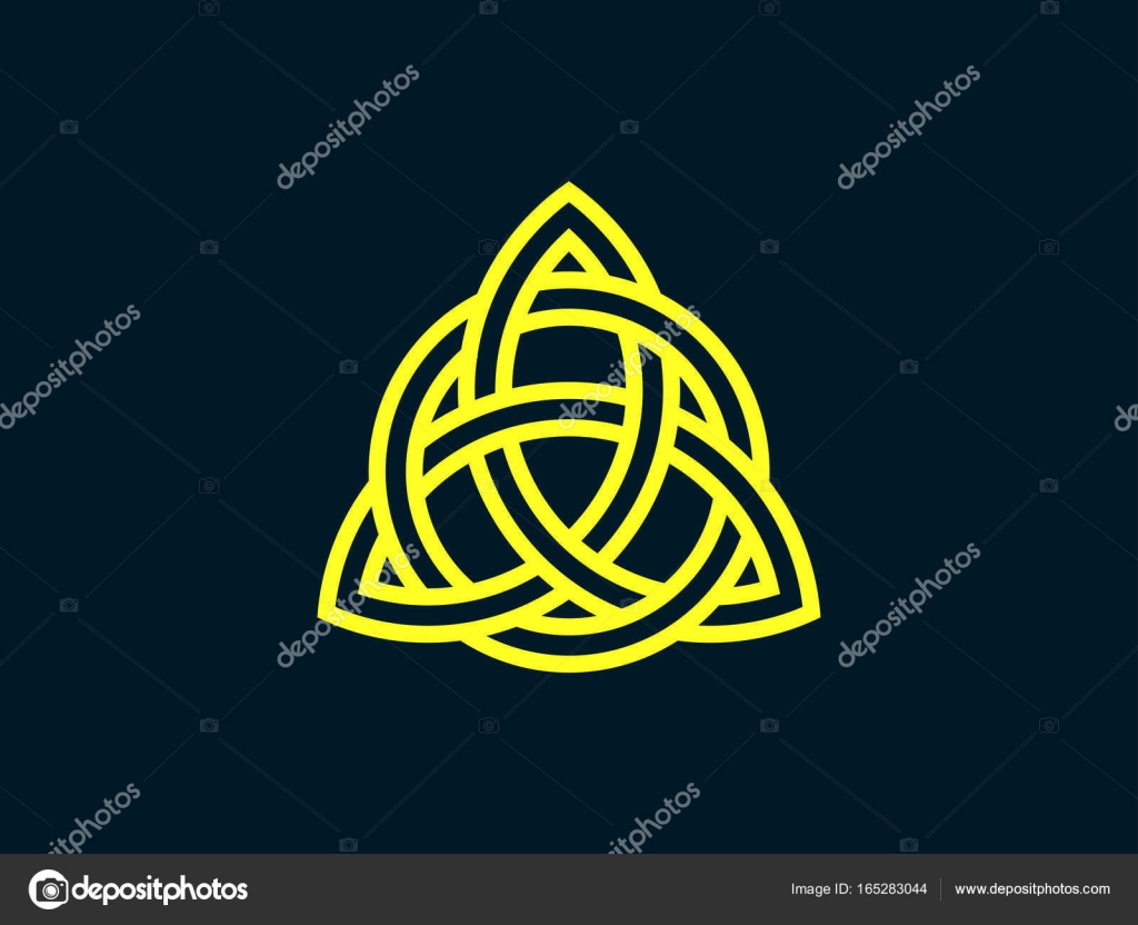Triquetra trinity knot celtic symbol of eternity vector trinity knot celtic symbol of eternity vector illustration stock vector biocorpaavc Gallery