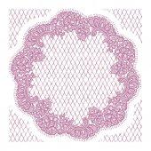 Grafici del merletto rosa