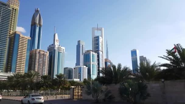Zobrazit na mrakodrapy ve finančním centru Dubaje
