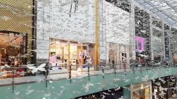Pillangó művészet telepítés a Dubai Mall, Egyesült Arab Emírségek