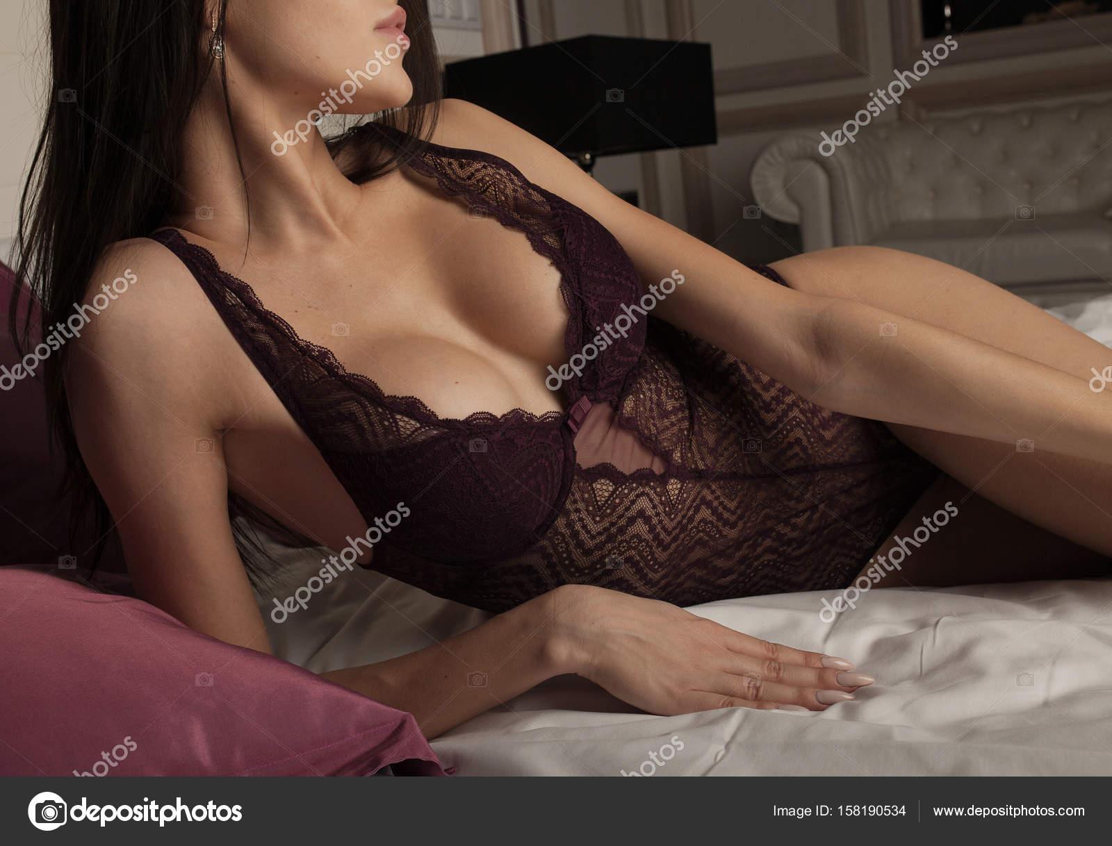 Большие груди стройных женщин
