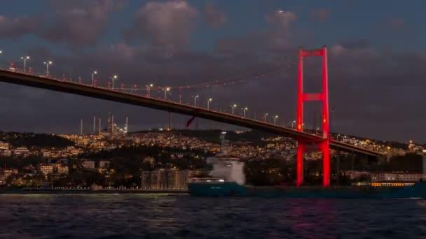 Ultra HD 4K  Bosphorus Bridge istanbul