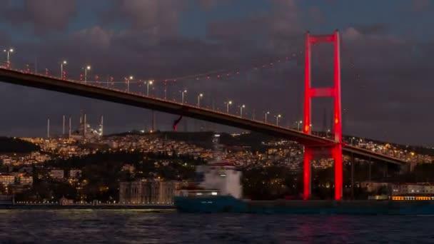 Ultra Hd 4k istanbul Bosphorus most