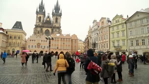 Staroměstské náměstí v Praze, Česká republika časová prodleva 3