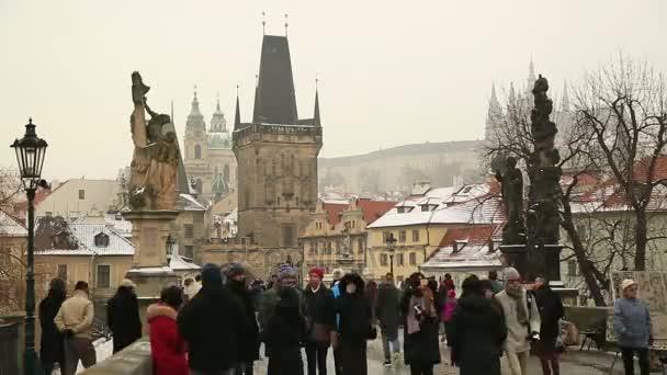 Karlův most v Praze časová prodleva 2