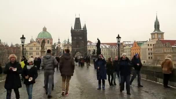 Karlův most v Praze časová prodleva 4