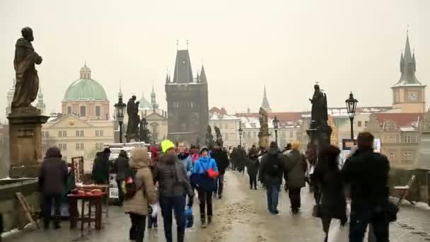 Karlův most v Praze časová prodleva