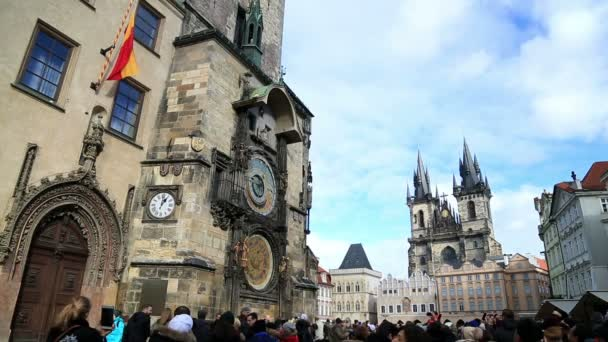 Orloj a Staroměstského náměstí v Praze 2