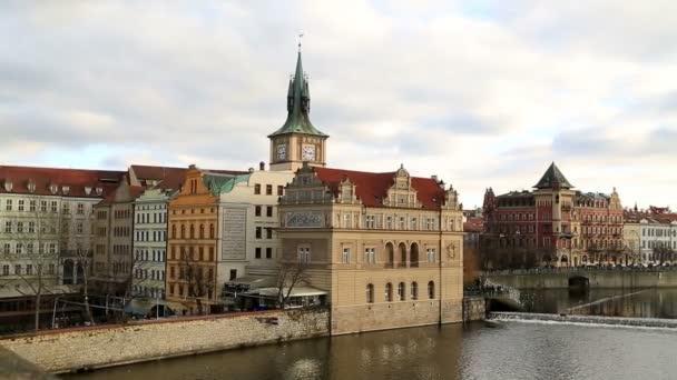 Panoráma ze staré Prahy a Vltava river