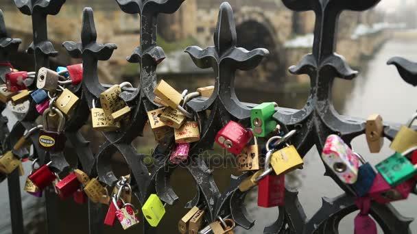 Visací zámek Symbol lásky