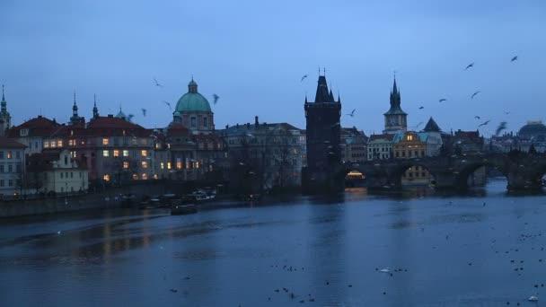 Pražské panoráma v noci 2