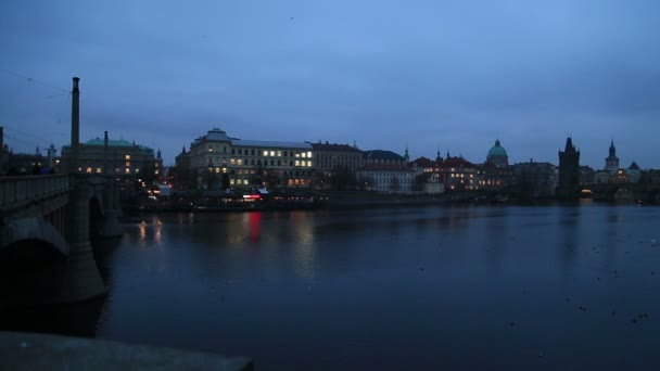 Pražské panoráma v noci 7