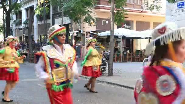 Bolívia karnevál Valencia 3