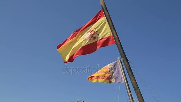 Spanyolország és vörös zászlók: a blue sky 3