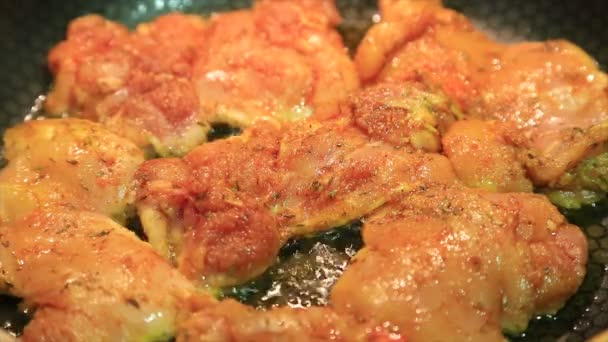 Raw Chicken Breast in Frying Pan 2