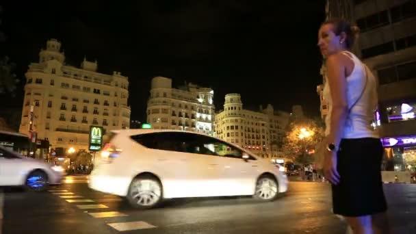 Noční pohled z Valencie city 5