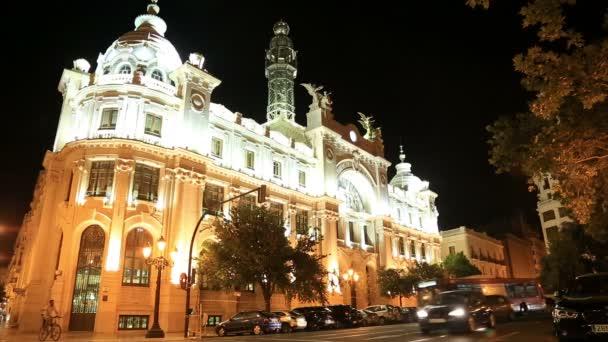 Noční pohled na město Valencia 4