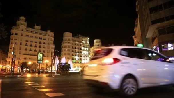 Noční pohled z města Valencia 7