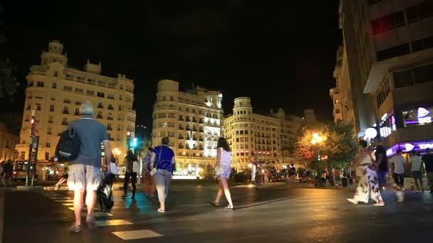 Noční pohled z města Valencia 6