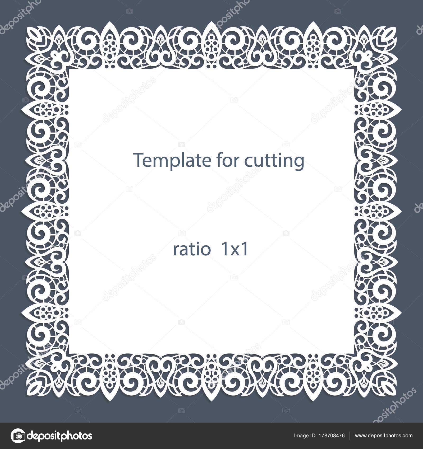 border paper template