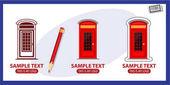 Telefonzellen-Logos gesetzt