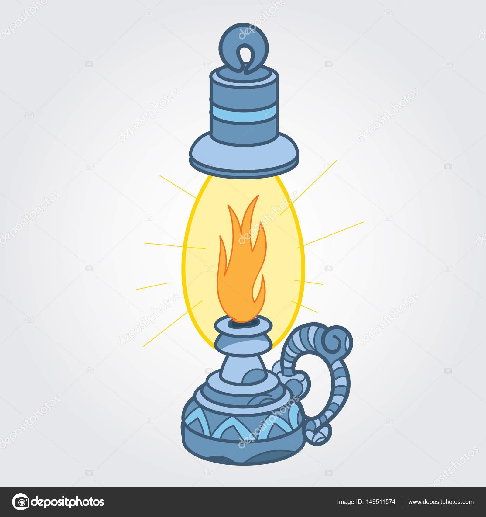 Gaz Lambası Renk Eskiz Stok Vektör Filkusto 149511574