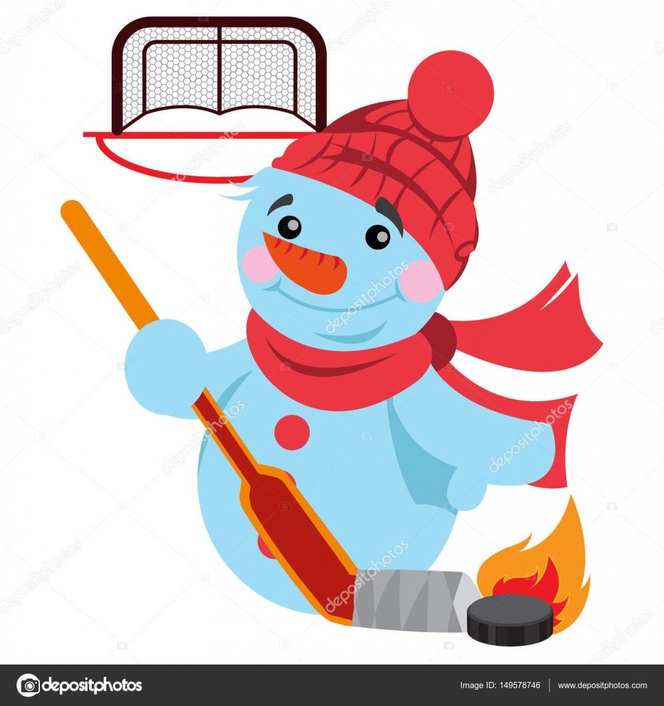 хоккей картинки снеговик них соответствует определенному