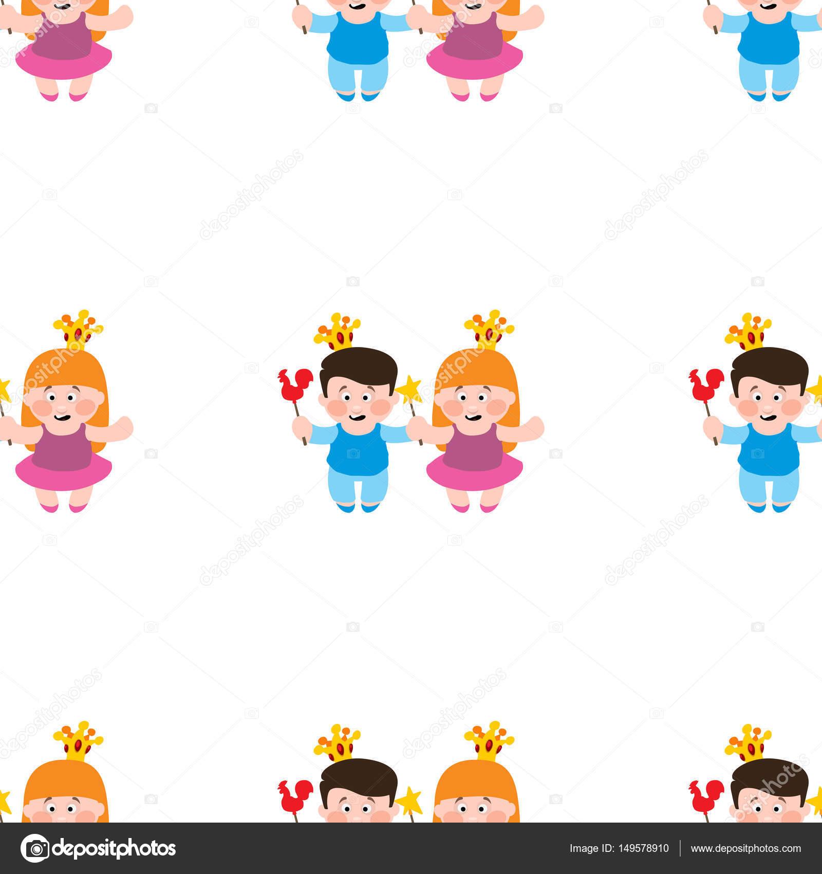 Imágenes: fondos para niñas cool | Patrón sin costuras niño y niña ...