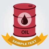 Metal barel ropy uložení ikona