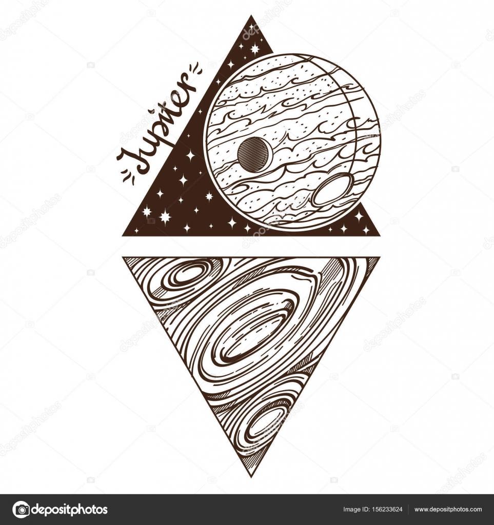 planeta del sistema solar — Archivo Imágenes Vectoriales © filkusto ...