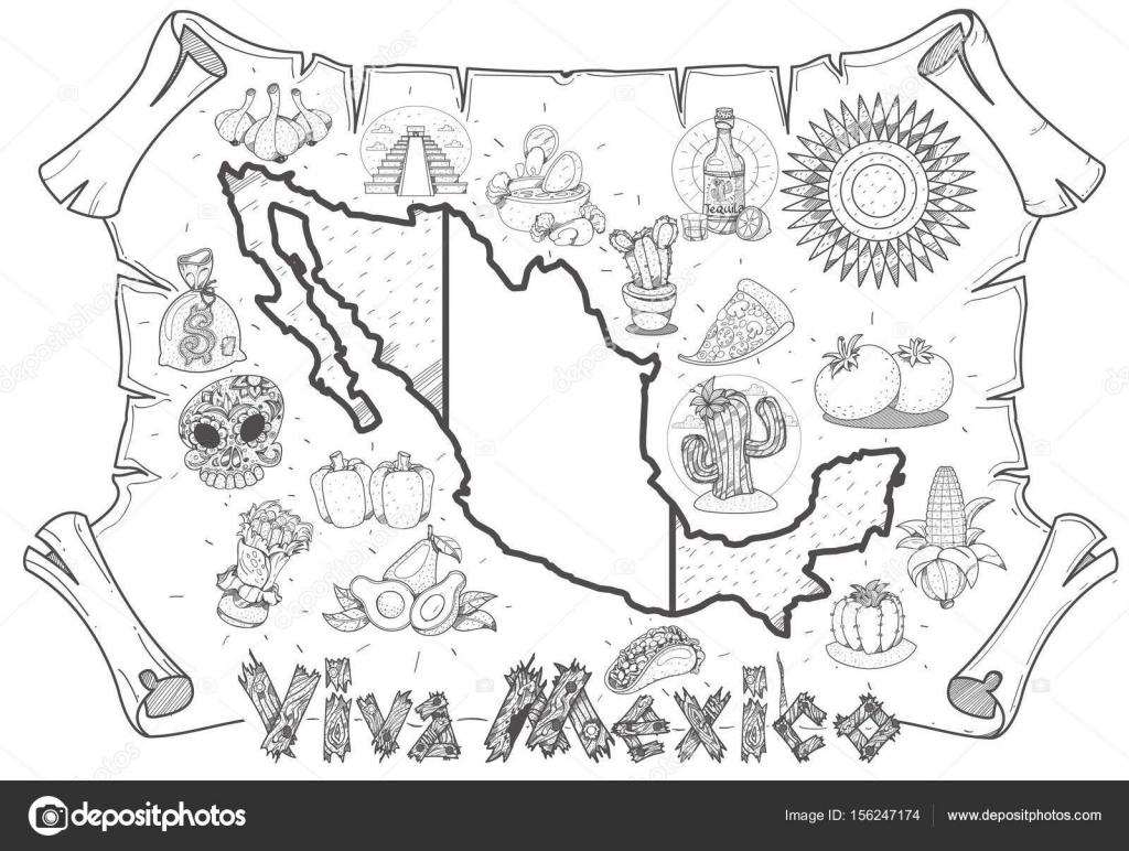 Vista De Material Promocional De Turismo Archivo Imágenes
