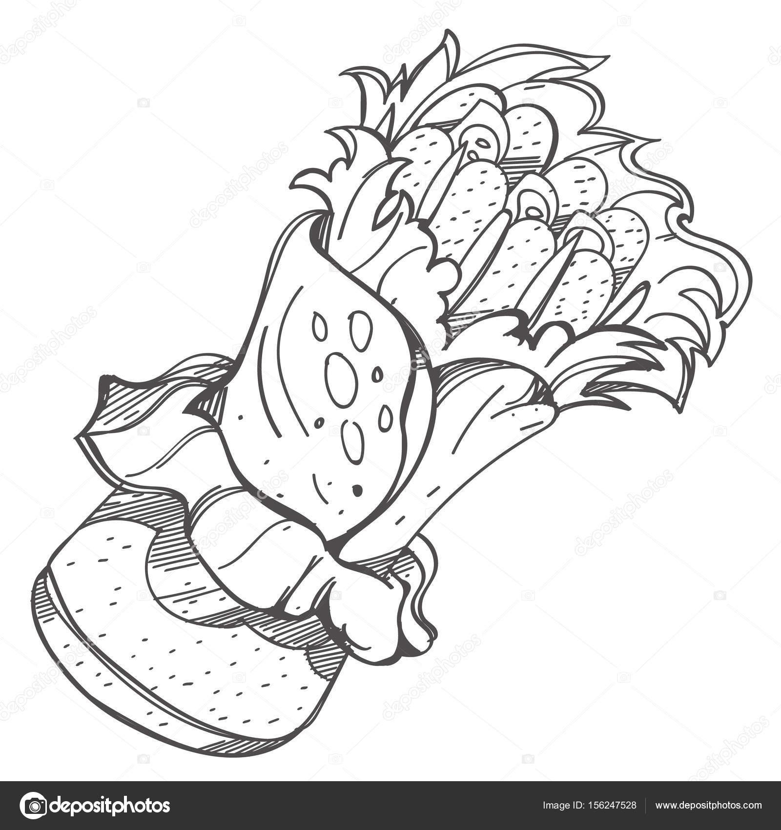 cocina tradicional mexicana — Vector de stock © filkusto #156247528