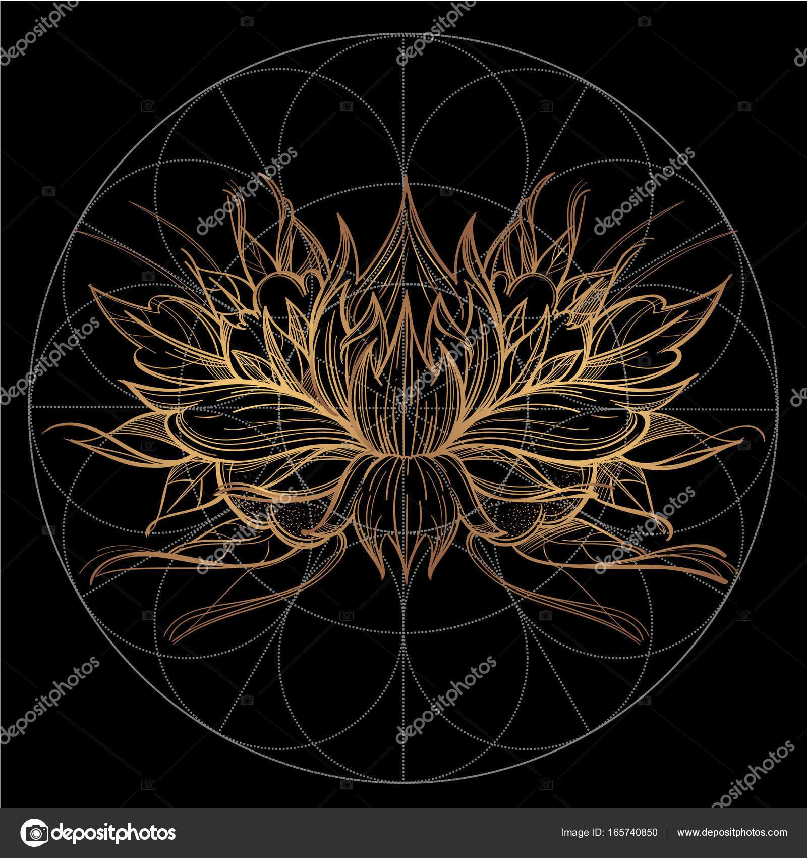 Element D Une Fleur Stylisee Image Vectorielle Filkusto C 165740850