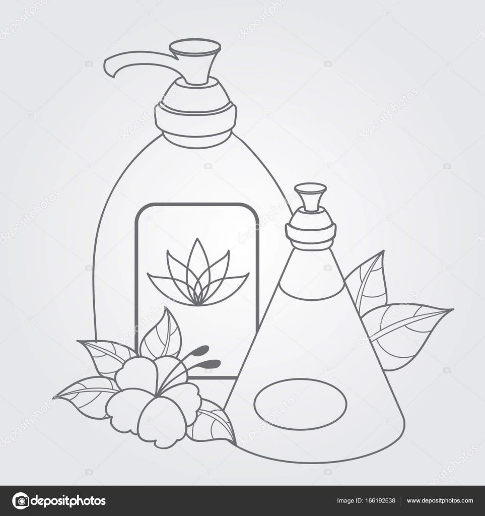Imágenes Un Jabon Liquido Para Colorear Jabón Líquido