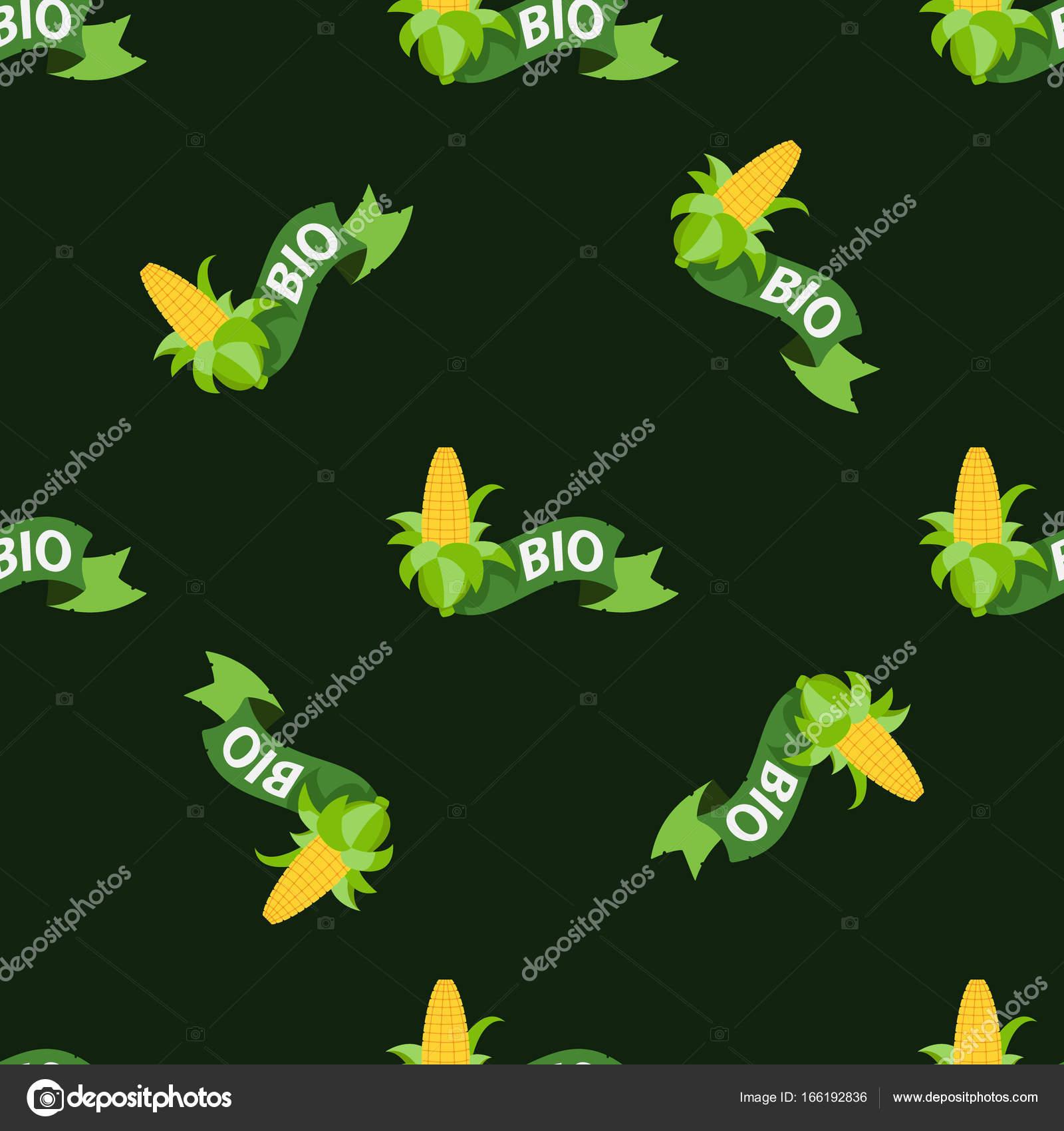 ear of corn pattern stock vector filkusto 166192836