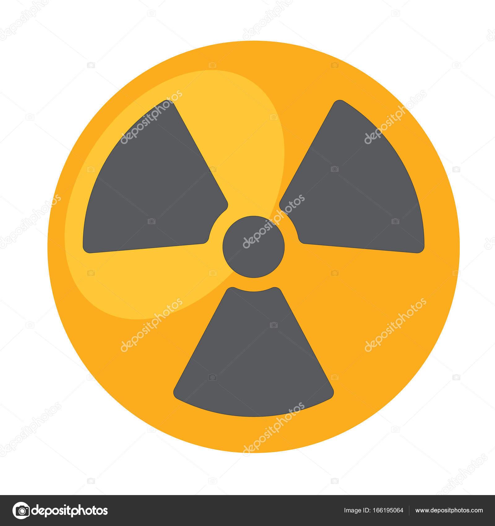 Symbol Of Radioactive Waste Logo Stock Vector Filkusto 166195064
