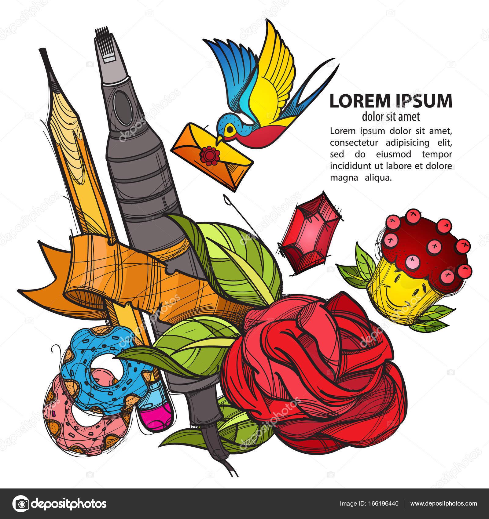 Рисунки цветов на плакат