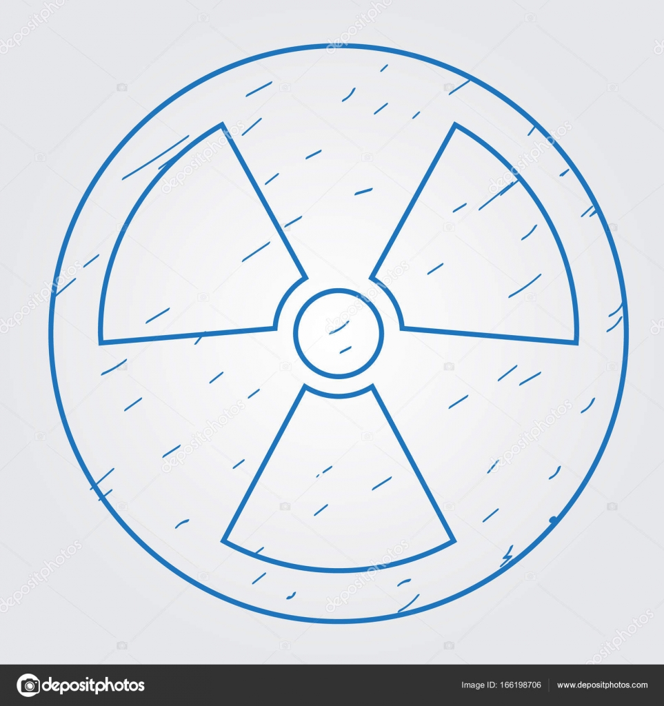 Symbol Of Radioactive Waste Logo Stock Vector Filkusto 166198706