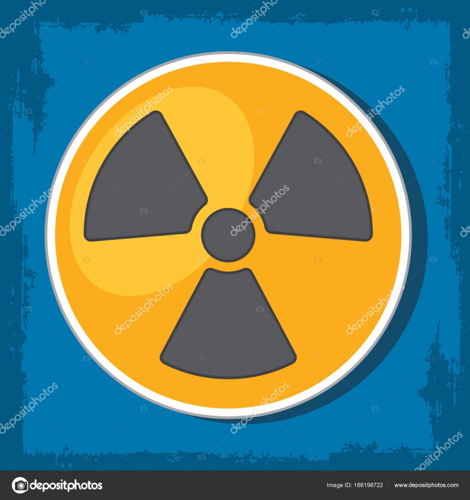 Radioactivity Symbol Of Radioactive Waste Stock Vector Filkusto
