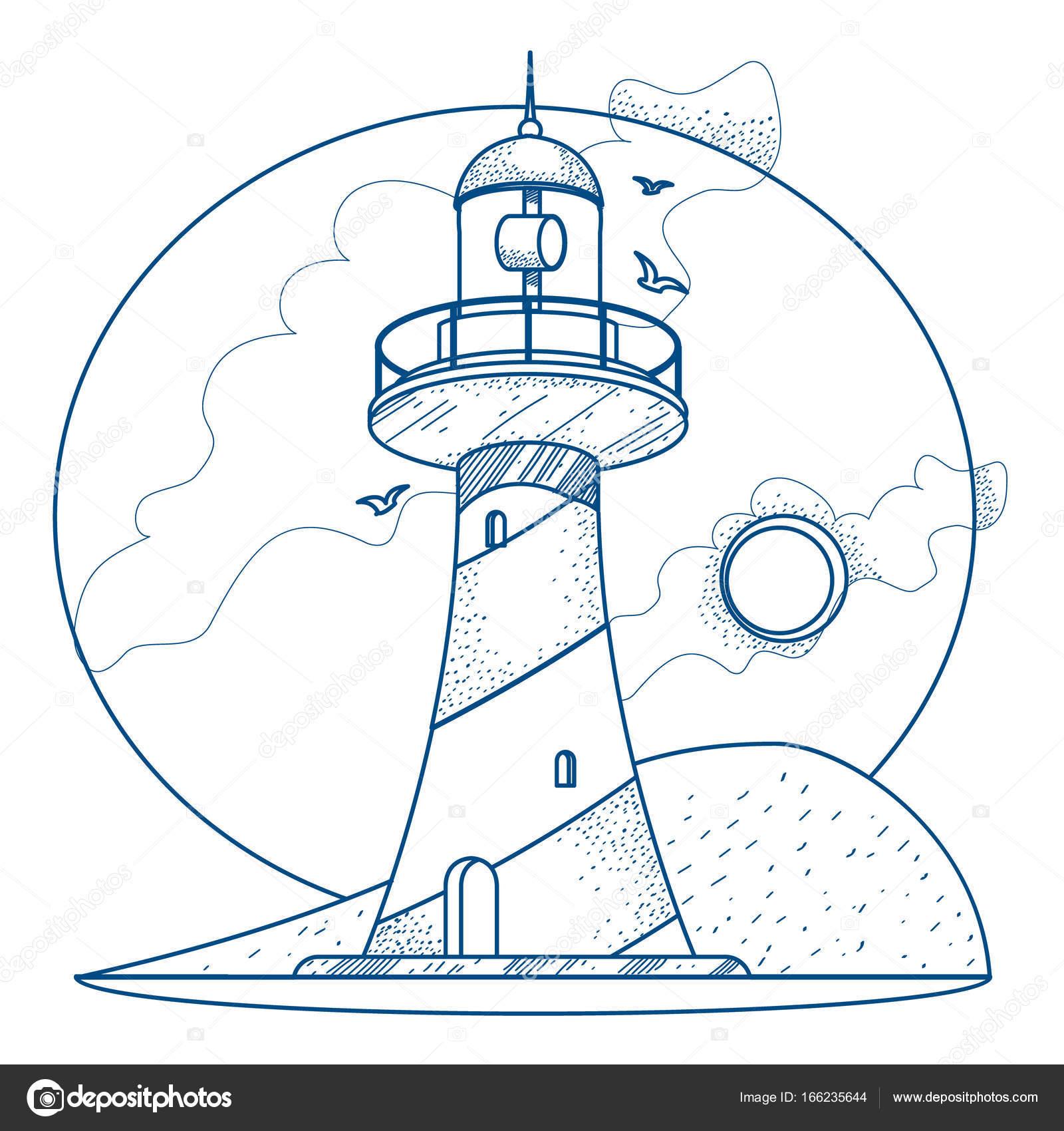 leuchtturm vorlage ausmalen  ausmalbilder und vorlagen