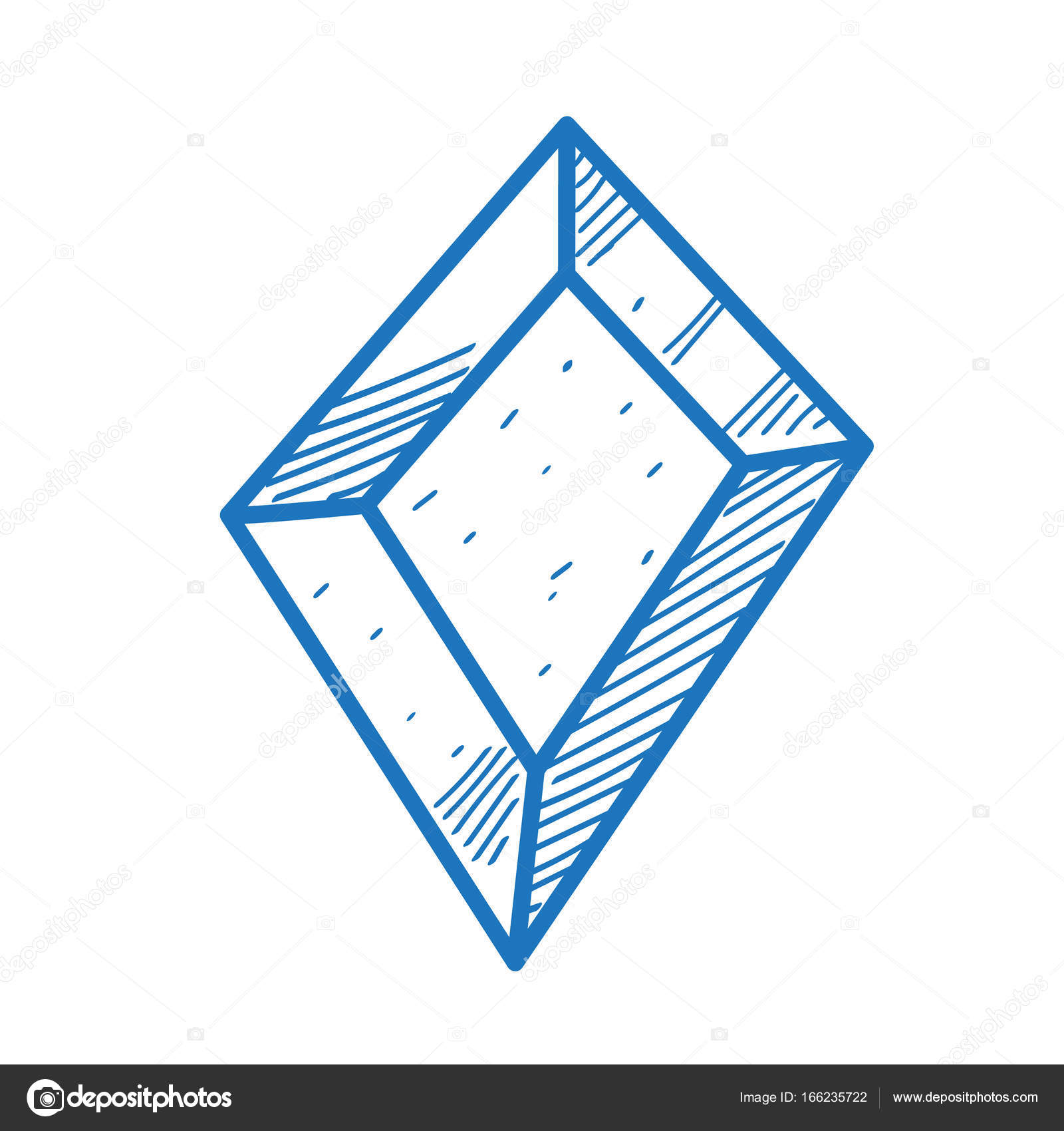 The symbol of diamonds sketch logo stock vector filkusto the symbol of diamonds is a sketch of the logo element for infographics in the hand drawing style vector by filkusto buycottarizona